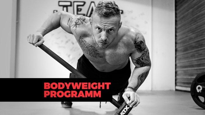Bodyweight Programm